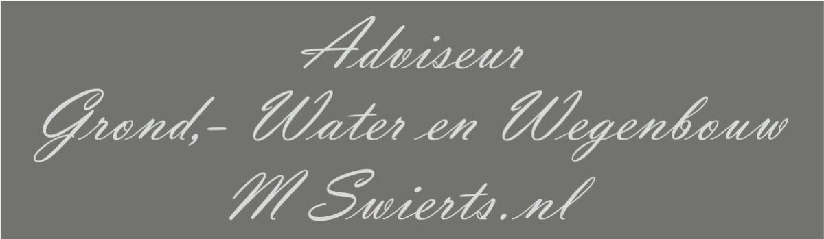 Welkom op de website van M. Swierts
